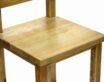 Classic Pine Bar Stool with back