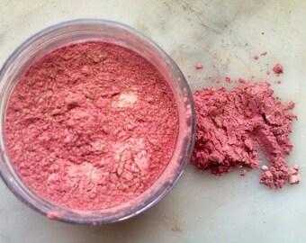 Dusty Rose Natural Mica Blush Makeup