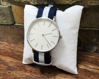Mens Watch Personalized, Wrist Watch, Fathers Day Gift, Groomsman, Best Man, Groom