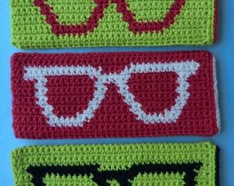 Eye Glasses Case - CROCHET PATTERN INSTANT Download