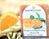 Orange and Lemongrass Soa...