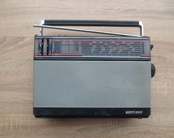 Vintage radio, Portable Radio, Home Audio, retro decor,  radio Electronics, Modern Decor, collectibles, receiver, Plastic Radio