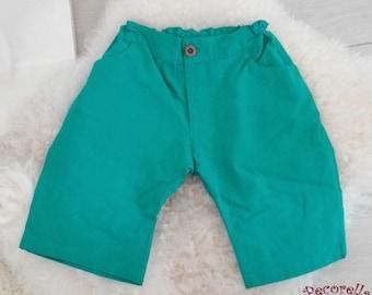Boy's bermudas/ short turquoise