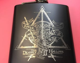 Deathly Hallows Flask