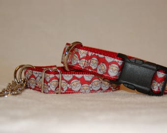 Santa dog collar