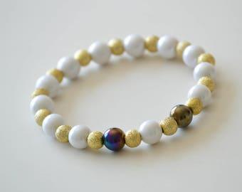 COLLECTION spring summer beads elastic bracelet