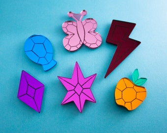 My Little Pony - Elements of Harmony Gem Magnets