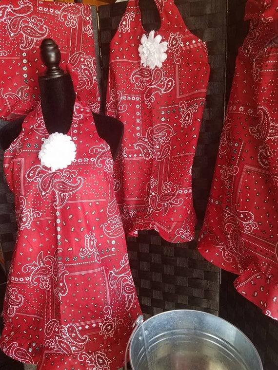 Rustic Toddler, Rustic Toddler Dress, Child Country Dress, Country Halter Dress, Summer Dress, Red Dress, Sister Dresses, Bohemian Toddler,
