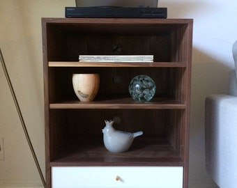 Record Player Cabinet - Solid Walnut