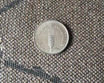 1962 France 5 Centimes Coin
