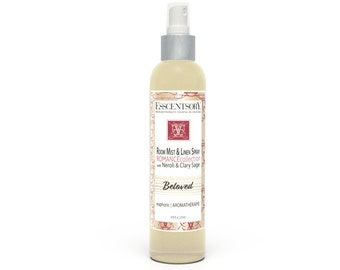 BELOVED Room Mist & Linen Spray | Home Fragrance | Neroli and Clary Sage | Air Freshener | Pure Essential Oils | Aromatherapy