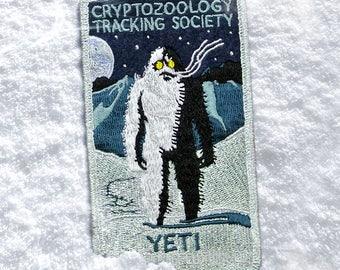 Cryptozoology Tracking Society: YETI Patch