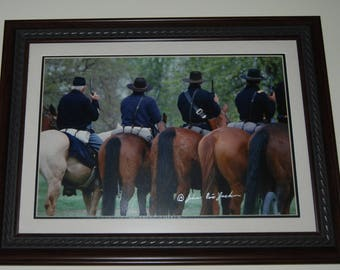 Cavalry PRINT  (Frame is for DISPLAY ONLY)
