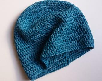 Pure Cotton Crochet Hat - Ready to Ship