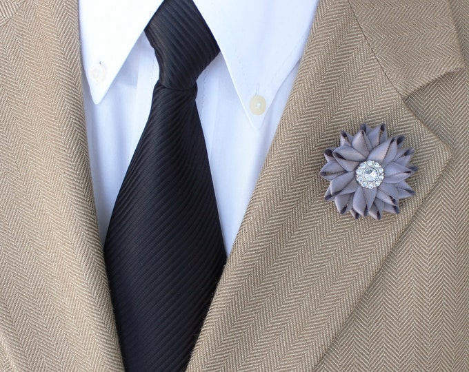 Mens Gifts, Lapel Flower, Custom Lapel Pin, Mens Fashion Accessories, Gift for Gentleman, Mens Lapel Flowers, Flower Lapel Pin for Men