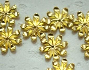 Gold mini flower