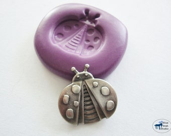 Ladybug Mold - Silicone Mold - Polymer Clay Resin Fondant Soap Wax Candy