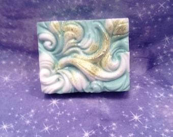 Ocean Wave Green Soap