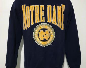 Vintage Notre Dame Sweatshirt S/M