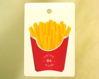 Fries B4 Guys Car Air Freshener