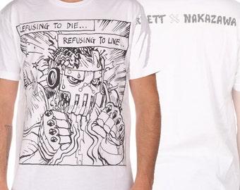 Refusant de mourir Josh Barnett X Lucky Nakazawa UFC #164 Walkout T-Shirt