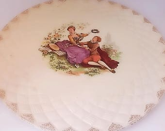 Cake serving plate