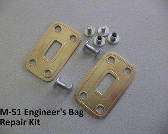 M-51 Engineers Field Bag Clasp Repair