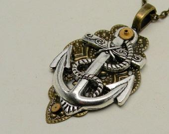 Steampunk hunker necklace