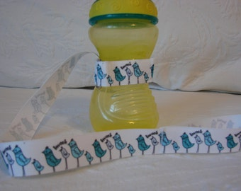 Bottle or Sippy Leash, Bottle Leash, Sippy Cup Strap, Sippy Tether, Sippy Cup Tether, Sippy Cup Leash, Bottle Strap, Toy Strap, Toy Tether