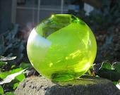Lime & Silver Sphere Vase...