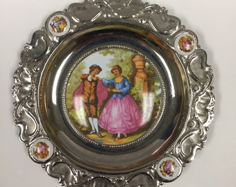 Limoges Fragonard Decorative Plate