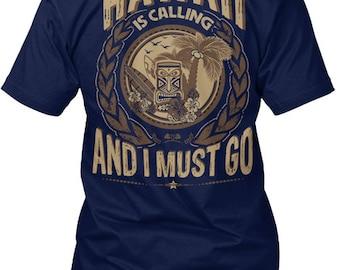 Hawaii Calling Hanes Tagless Tee Tshirt