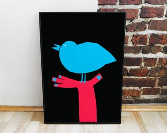 Bird Giclée Print Poster