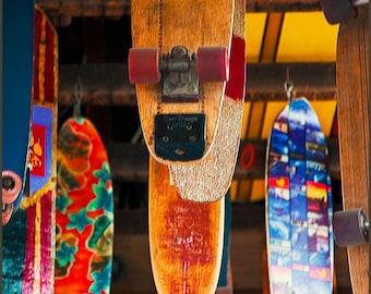 Skateboards Photograph--Movin' On--7.5x10.5 Fine Art