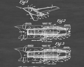Jet Engine Patent - Vintage Airplane, Airplane Blueprint, Airplane Art, Pilot Gift,  Aircraft Decor, Airplane Poster, Jet Patent