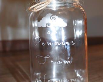 Pennies From Heaven Jar