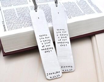 Gift bookmark long phrase First Communion,Baptism,confirmation Personalized Bookmark Custom Bookmark Keepsake Date wedding