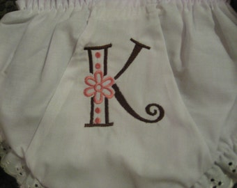 Personalized Bloomers / Diaper Cover - FREE Shipping