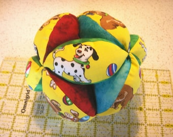 Happy Dog - Grab Ball - Baby Exercise Toy