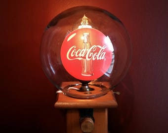 One Of A Kind Upcycled Repurposed Vintage Coca Cola Coke Globe Candy