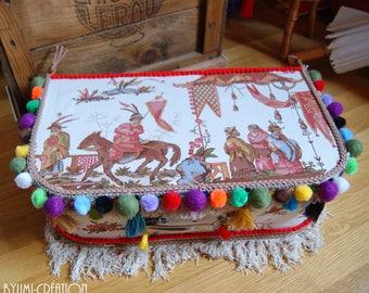 Colorful Bohemian bag