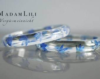 Forget-me-not bangles in a double pack (RETARM-18)