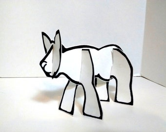 Color and Make Any Cat - Printable Toy
