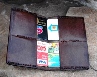 Minimalist Wallet Leather Credit Card Holder Front Pocket Sciatica Relief Mens Womens