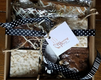 Coffee House Sampler, Bakery Sampler, Gift Set, Hostess Gift, Birthday Gift, Thank You Gift, Coffee Gift, For Her, For Him, Valentine