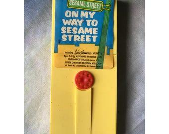 Vintage Fisher Price Sesame Street movie cartridge