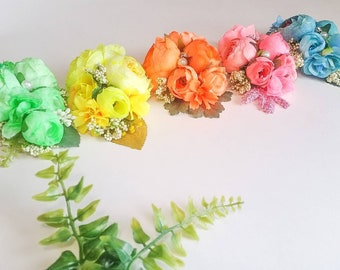 Neon package floral headbands