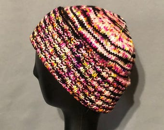 Hand Knit Brimmed or Slouchy Hat
