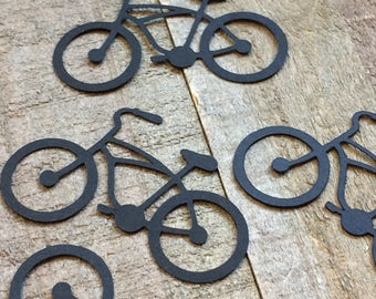 Bicycle Bike Table Confetti Die Cuts Shapes Decor Centerpiece Decoration Scrapbook Embellishments C008