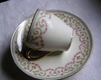 Bawo & Dotter Elite Works Demitasse Tea Cup and Saucer
